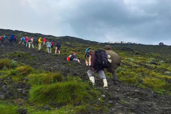 nyiragongo hike in congo, congo tours, congo safaris